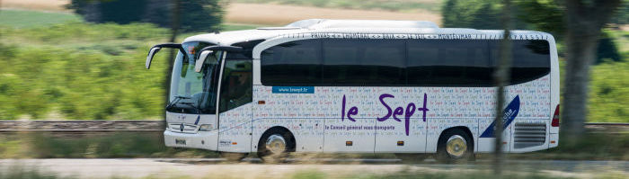 Lokale Openbaar Vervoer - Bus Le Sept - Ardechefriends.com
