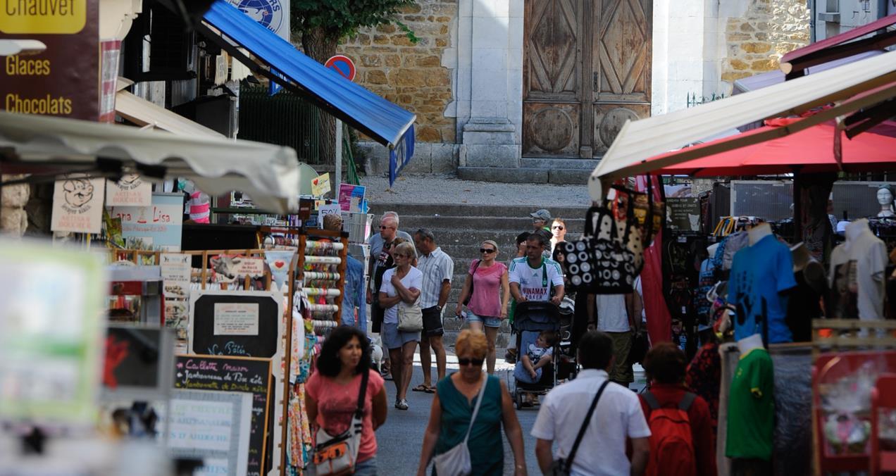 Ardèche - Ardèchefriends - markt