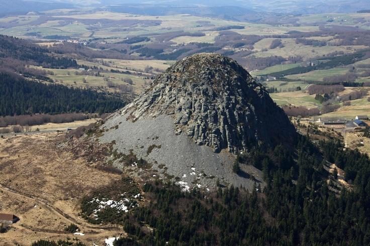 Vulkanische activiteiten - Gerbier de Jonc - Ardechefriends.com
