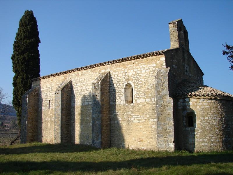 Saint-Montan - Saint-Andre-de-Mitroys kapel