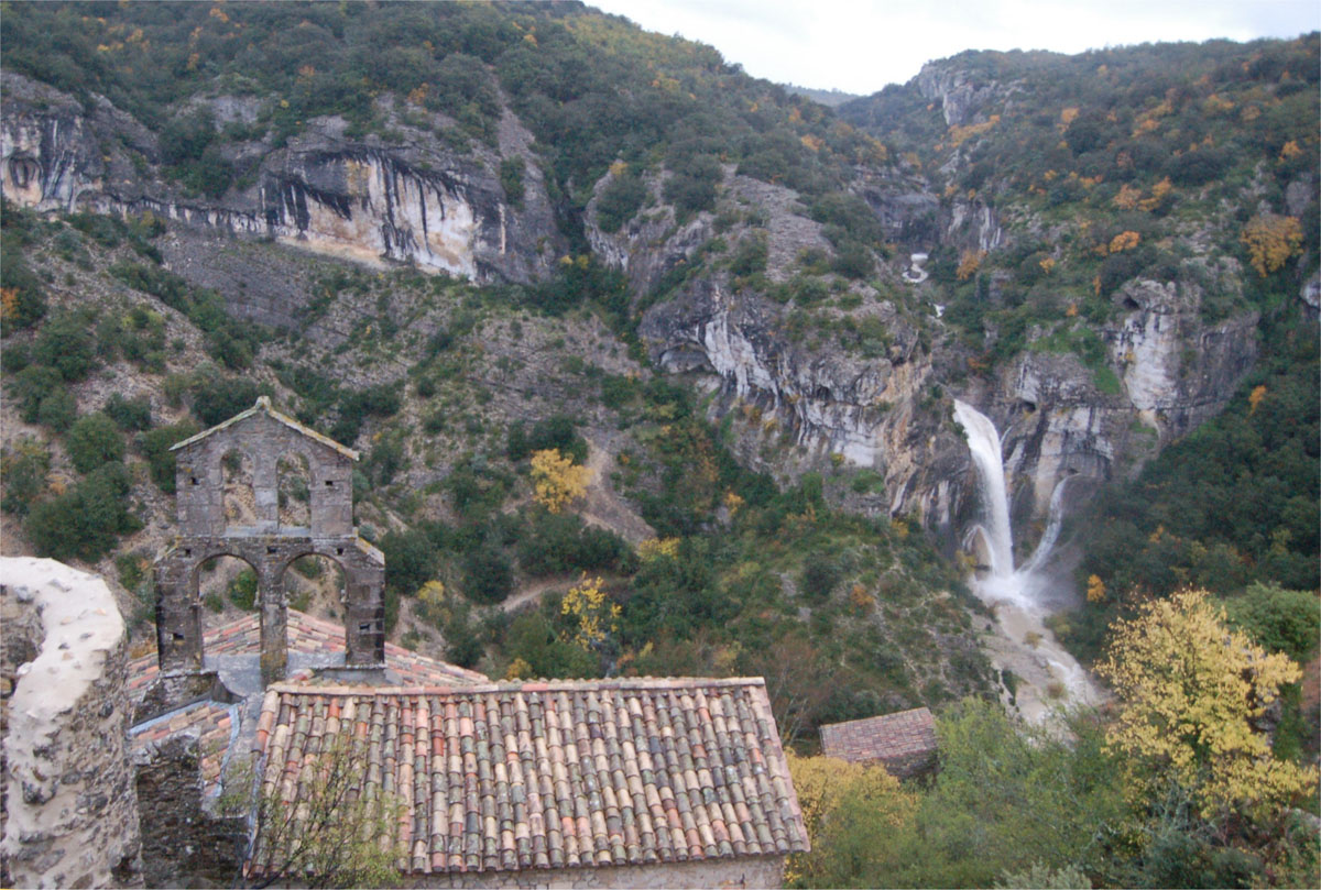 Waterval van Rochecolombe