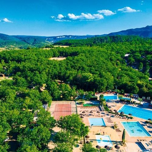 Domaine de Chaussy | Ardèche camping in Largorce-Vallon-Pont-d'Arc