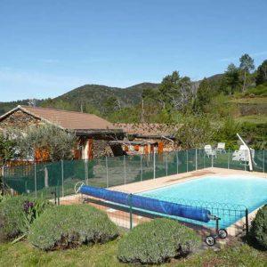 Vakantiehuis in Malbosc/Fabre met zwembad