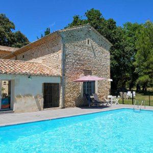 Vakantiehuis in Richerenches met zwembad